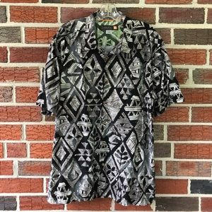 Quiksilver Printed S/S Button Down Shirt